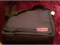 Levi's black unisex bag. New with tags on.