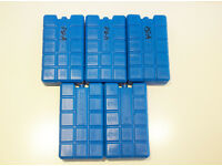 Ice Blocks x 6 for Cooler, Cool Box Food, Cool Bag Freezer Blocks, ideal for Camping