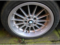 "USED BMW E38 18""RADIAL ALLOY WHEELS"