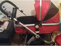I-safe pram/pushchair