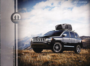 2012 2011 jeep compass mopar accessories original sales brochure. Cars Review. Best American Auto & Cars Review
