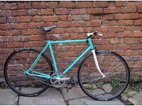Peugeot Singlespeed / Fixie. Custom build. Brooks Saddle