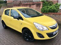 Bargain 2013 corsa low miles, sporty looking black alloys