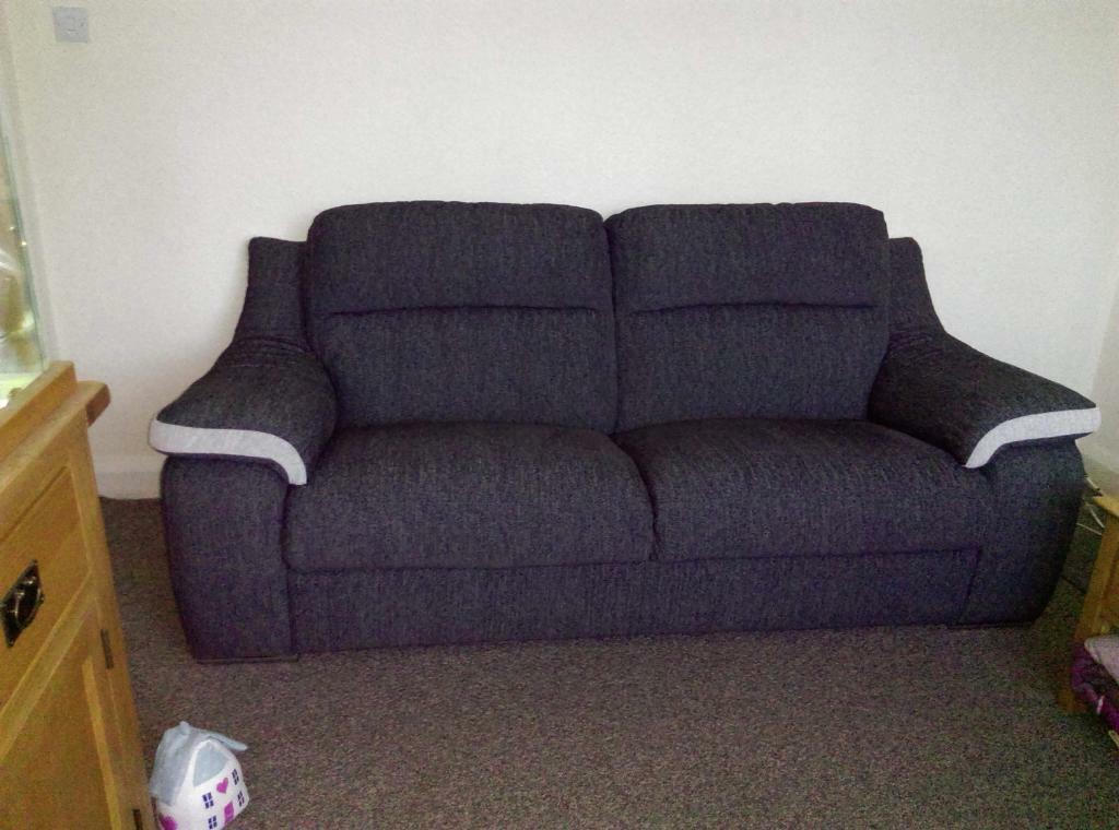 Scs 3 Seater Sofa Amp Power Recliner Chair In Loughborough