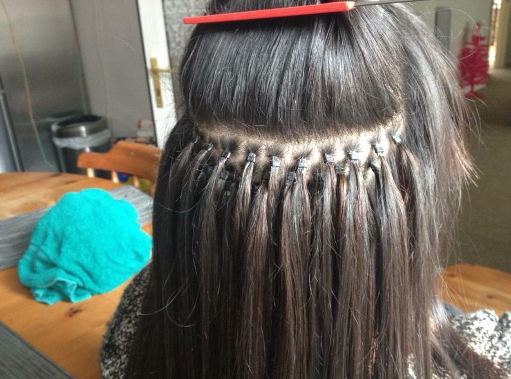 40 micro loop hair extensions individual rings micro loop weft
