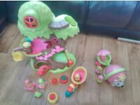 ELC Happyland Fairy Treehouse and Hedgehog. Excellent Condition.