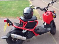 HONDA ZOOMER NPS50-6, EXCELLENT CONDITION, UK MODEL, 2009 PLATE.