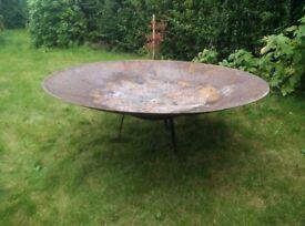 120 cm Steel Fire Pit