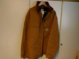 *BNWT * MENS CARHARTT TRADITIONAL ARCTIC QUILT LINED DUCK JACKET ( TOOLS, DIY, MACHINERY, PLANT )