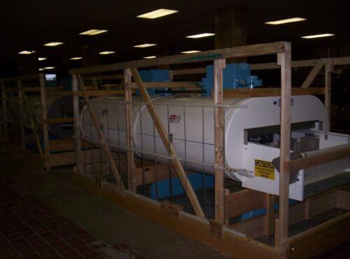 "Cryogenic tunnel freezer 10 module 1 tier, Ln2 Nitrogen/CO2,refurbished 30"" belt"