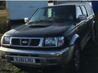 NISSAN NAVARA SPARES OR REPAIRS