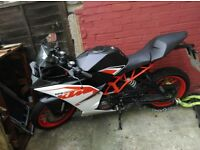 KTM RC low mileage, full service history from manufacturers available