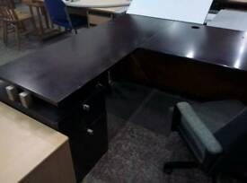 Executive office desks. Lots in stock delivery available