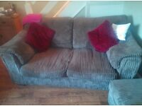 4 seat and 2 seat sofa with sofa bed, great condition