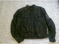 Belstaff Pure Motorcycle Leather Jacket XXXXL - Vintage - Leather - Motorbike - Track