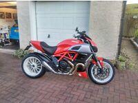 Ducati, DIAVEL STRIPE, 2013, 1198 (cc)