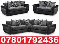 LARGE DFS SHANNON CORNER/3+2 SOFA REFLEX FOAM SEAT CUSHIONS 232