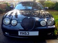 Jaguar S-Type 2.5 Petrol Automatic. Excellent Condition but gearbox issue. £600