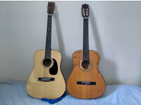 Two guitars for sale - £15 each