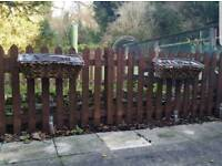 6ft x 4ft Picket Fence Panels