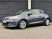 2015 RENAULT MEGANE 1.5 DCI LIMITED EDITION COUPE NOT CLIO ASTRA GTC AUDI A1 A3 FOCUS GOLF LEON VW, used for sale  Cullybackey, County Antrim