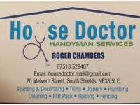 HOUSE DOCTOR HANDYMAN SERVICES WITH FULL TRADES INSURANCE