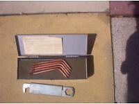 lightwieght gas welding set.