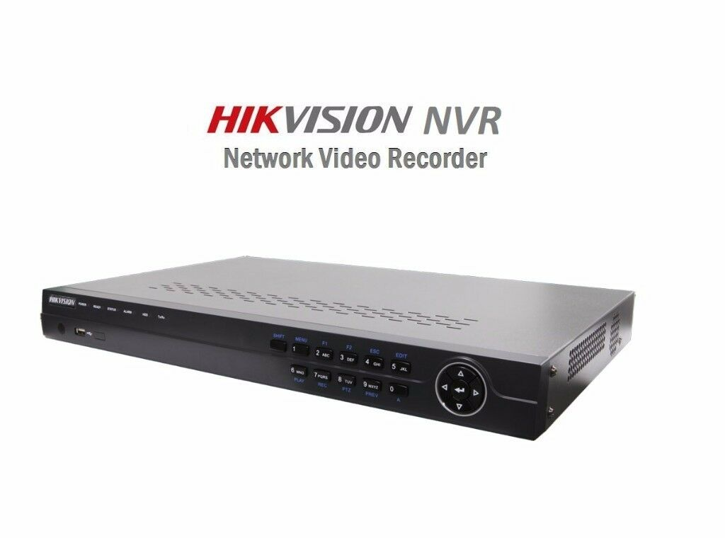 HIKVISION 4 CHANNEL PoE NETWORK VIDEO RECORDER (NVR) DS-7616NI-SE-P