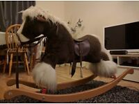 Vintage Merry thought rocking horse