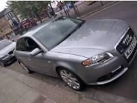 Audi A4 S Line, Auto, Grey, Leather