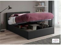 Dreams Yardley Upholstered Ottoman Bed Frame Double 204cm x 148cm