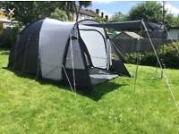Eurohike Stowe 4 man tent - 2 bedrooms