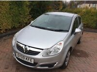 VAUXHALL -CORSA - 2009 - 5/D SILVER - 40000 , MILES - FULL - HISTORY - WITH 8 STAMPS