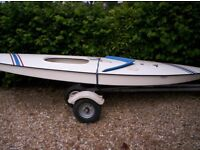 Sunfish Sailing Dinghy 14' - Good condition - Ready to sail.