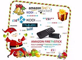 ** AMAZON FIRESTICK** (FULLY LOADED) WITH EVERYTHING