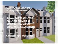 ARCHITECTURAL SERVICES, PLANNING PERMISSION, BUILDING REGULATION,Quality Design, Competitive Prices