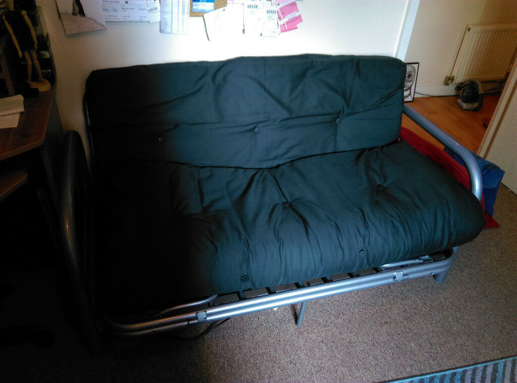 Tremendous Double Futon Mexico 2 Seater Futon Sofa Bed Black In Sheffield South Yorkshire Gumtree Ncnpc Chair Design For Home Ncnpcorg