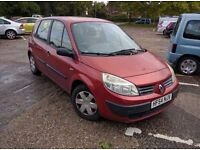 FOR SALE RENAULT SCENIC 1.4,FOR SPARES OR REPAIR,DUE TO SLIPPING CLUTCH