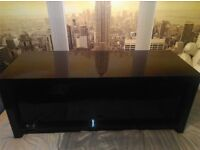 NEXT Black Gloss Storage Trunk/Unit/Tv Stand/Low Sideboard