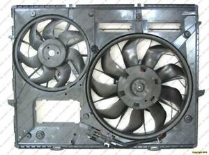 Cooling Fan Assembly 4.2L/5.0L Without Towing Volkswagen Touareg 2004-2007