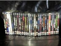 Set Of 30 WWE PPV DVDs