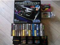 Sega Mega Drive with Games & Extra Controller