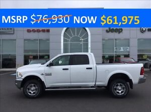 2017 Ram 2500 Outdoorsman CUMMINS 4X4, CREW CAB BI-WEEKLY $368*