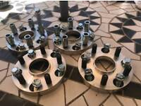PDC wheels adapters 5x120 BMW to Japanese 5x114.3 wheels