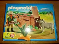 Playmobil 4833 Ranger With Warthog Play Set As New Condition