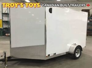 2018 Canadian Trailer Company 7X10 V-Nose Cargo Trailer