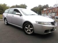2005 Honda Accord, very economical estate car, still TAXed, starts and drives good, leather seats.