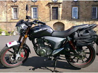 2015 KEEWAY RKV 125cc Motorcycle - Great Condition - Low Mileage