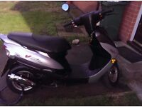 50cc Peugeot moped like new