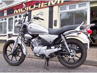 2012 YAMAHA YBR 125 CUSTOM WITH ONLY 436 MILES VERY CLEAN SOLD WITH WARRANTY